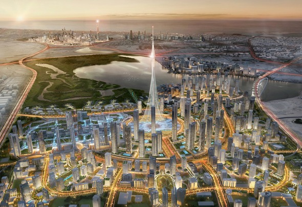 The Tower at Dubai Creek Harbour is expected to be taller than Burj Khalifa and just as lavish