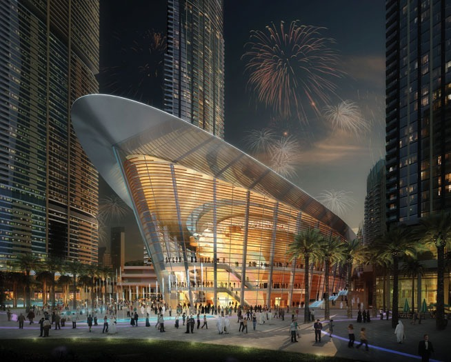 Inaugurated in August 2016, the Dubai Opera House will hold 2000 people, along with a stage opera, theatre shows, concerts, exhibitions and more!