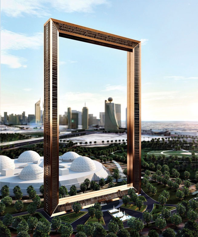 If you've been around Zaabeel Park lately, you might have noticed the Dubai Frame in the making. This frame will highlight the Dubai landmarks and will be a major attraction for tourists