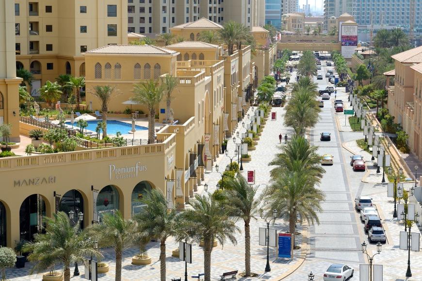 Jumeirah Beach Residence (JBR) The Walk