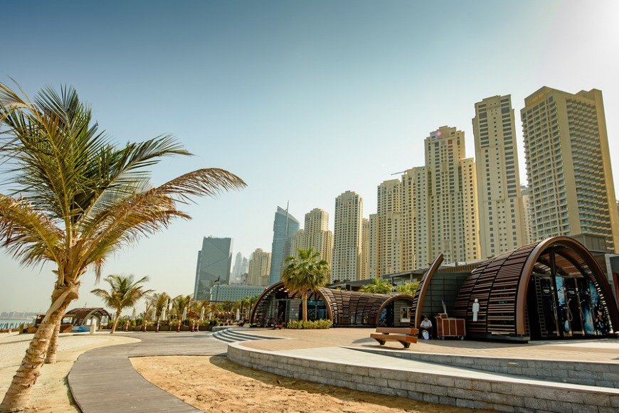 Jumeirah Beach Residence (JBR) The Beach