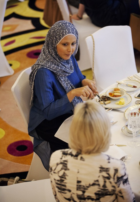Were You Ex-Papped at our Burj Breakfast?