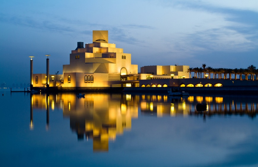 The Museum of Islamic Art is the largest museum of its kind in the world.