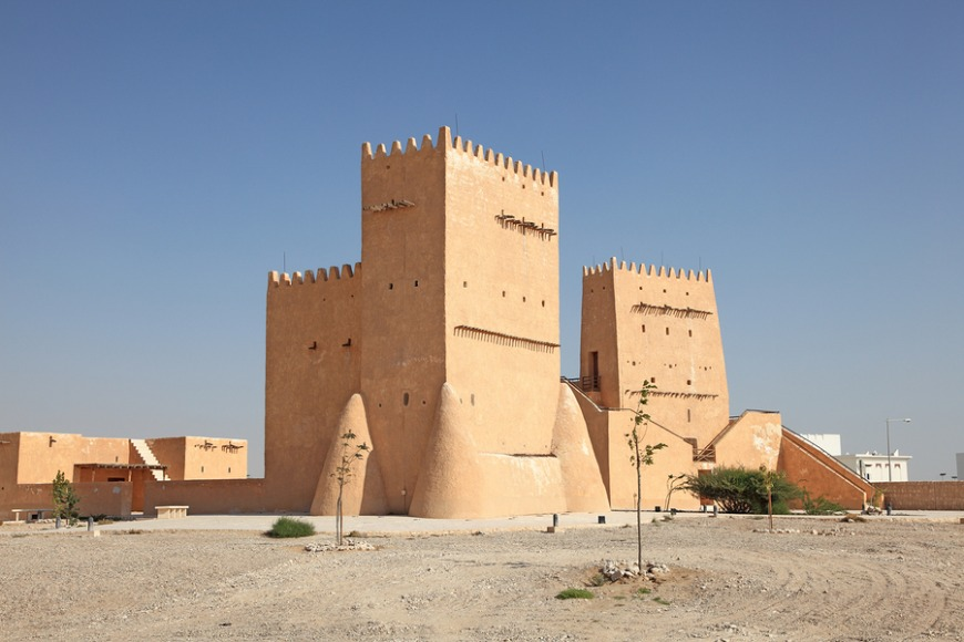 The Barzan Tower was created to protect a water reservoir in the area.