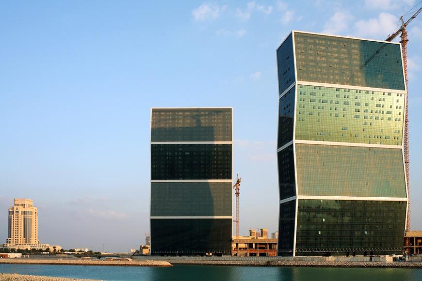 Zig Zag Towers in West Bay.