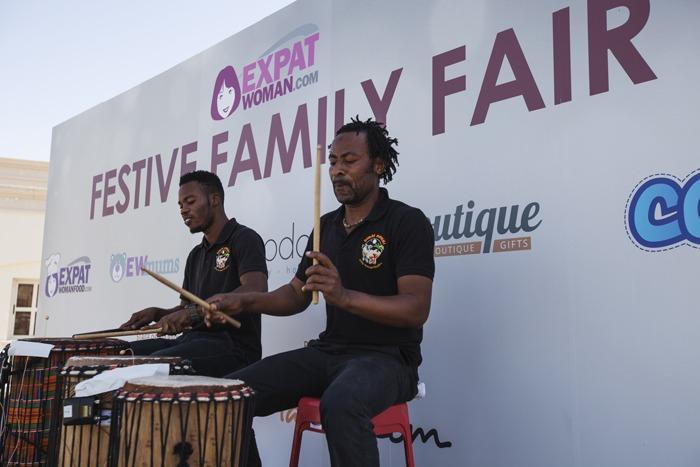 Dubai Drums performing on stage