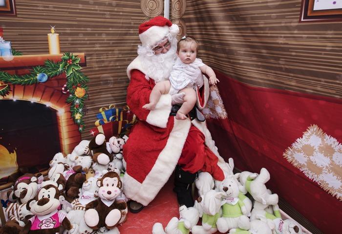 Kids had the chance to meet Santa himself at our Santa's Grotto