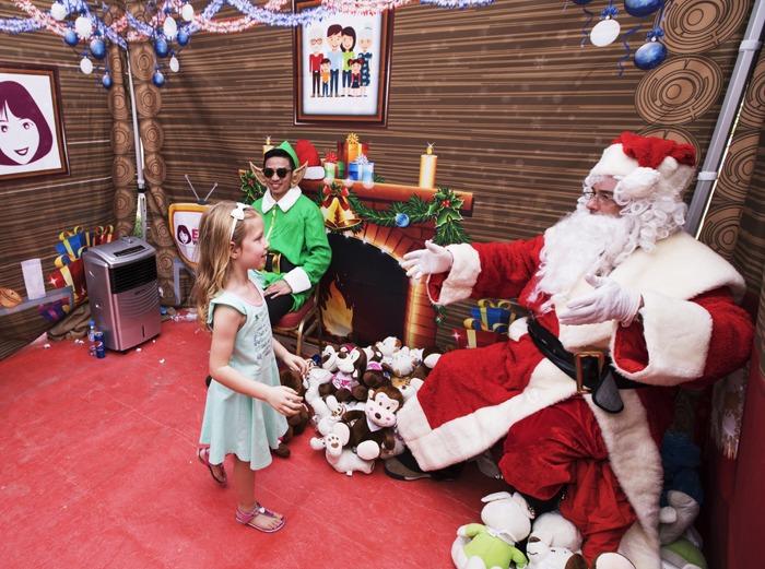A big hello from Santa!