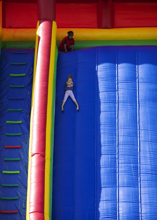 That slide was seriously huge!