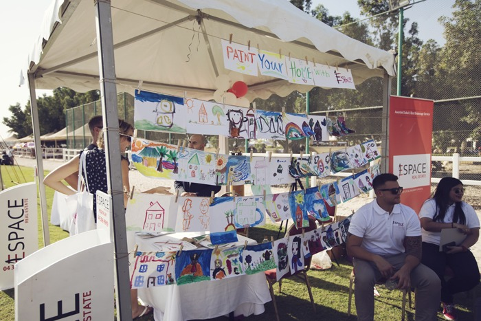 Look at all those amazing drawings and paintings!