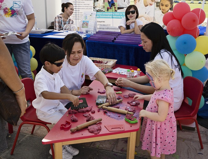 There was lots of free activities for kids to enjoy