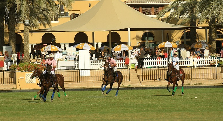 ExpatWoman vs. Cobone in this year's Polo Match at the Festive Family Fair