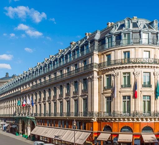 Le Grand Hotel | Photo: parislegrand.intercontinental.com
