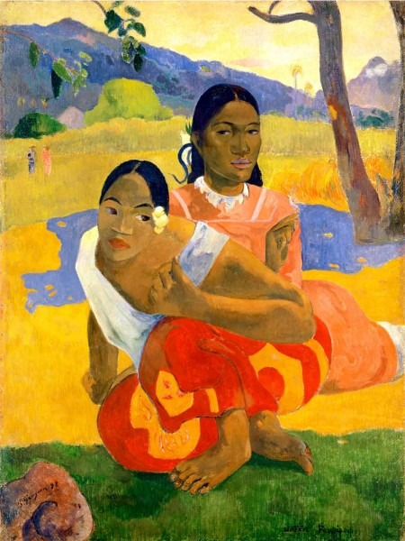 Paul Gauguin's When Will You Marry? painting | Photo: catawiki.net
