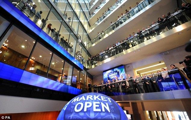 London Stock Exchange Market | Photo: dezeen.com