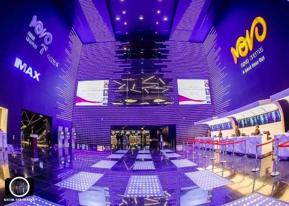 Mall of Qatar Novo cinema | Photo: IG @ qatar_and_yonder