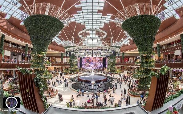 Mall of Qatar view | Photo: IG @qatar_and_yonder