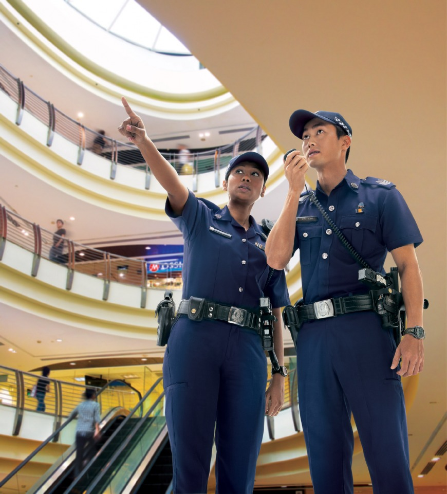 You wait for instructions from the authorities. | Photo: weave.com.sg