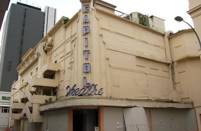 Then: Capitol theatre | Photo: rememberingsingapore.com