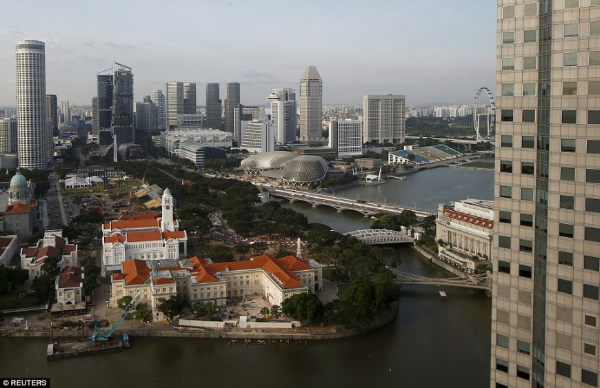 Now: Singapore River surroundings | Photo: Reuters