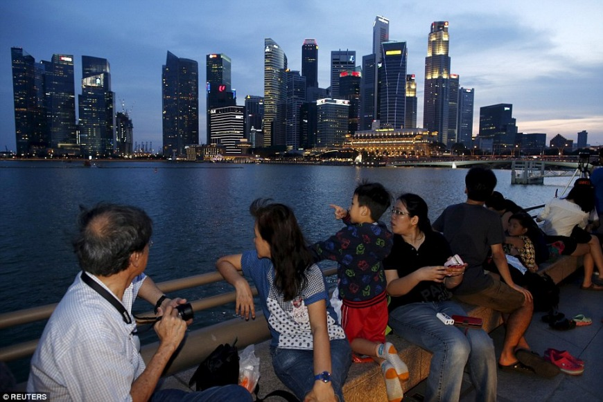Now: Alongside Marina Bay | Photo: Reuters