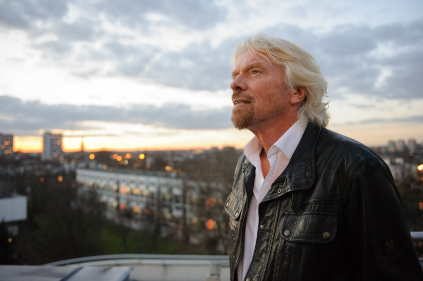 1. Richard Branson: Abandon regrets
