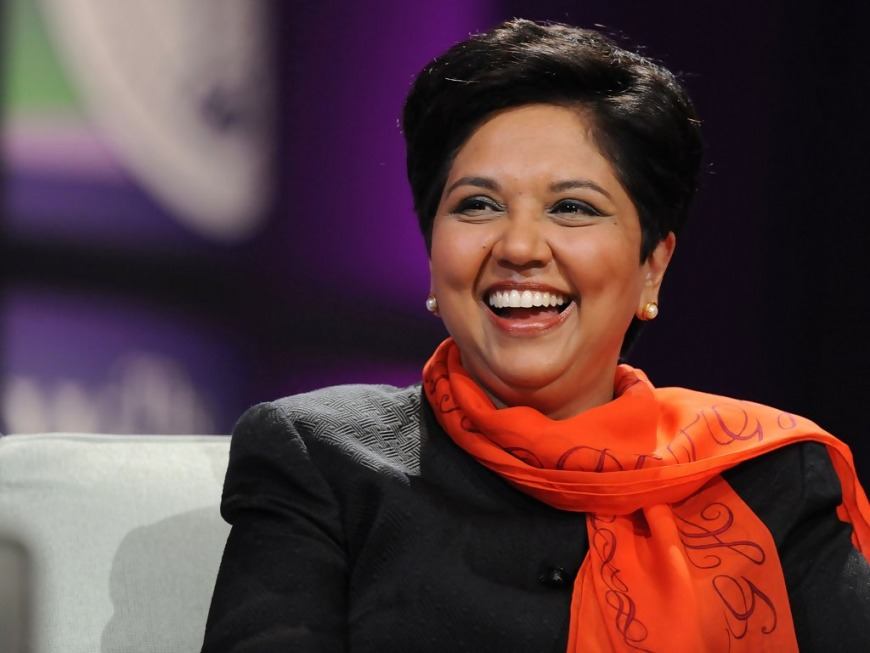 12. Indra Nooyi: Take on the hard tasks