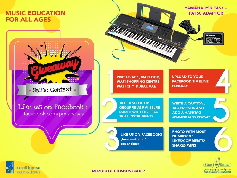 Sing and Swing Training Centre and Popular Music Institute Competition