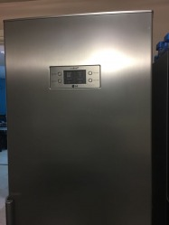 VGC Fridge for Sale in LG brand with bottom freezer. Steel finish
