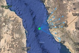 Earthquake Recorded Off The Coast Of Jeddah