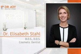 Dr Joy Dental Clinics Welcomes Cosmetic Dentist Dr. Elisabeth Stahl