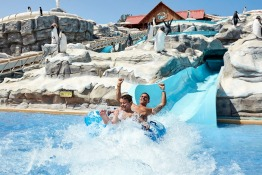 World's Largest Swimming Lesson at the Coolest Waterpark in the UAE