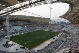Sneak Peak of Qatar's First 2022 FIFA World Cup Stadium
