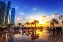 15 Stunning Images of Abu Dhabi at Sunset