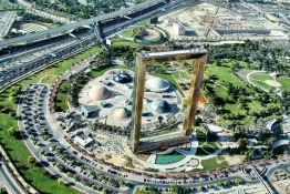 Dubai Frame to Open in January 2018