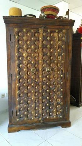 Indian hardwood cabinet