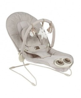 Mamas & Papas Ripple Chair Bouncer Honey Bear