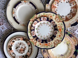 Genuine vintage dinner plates