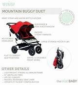Mountain Buggy duet 2.5 Double buggy and cots