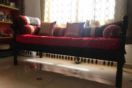 Ethnic Indian Divan Sofa - like a single bed