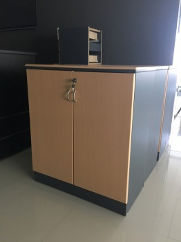 Good condition tables and drawers