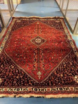Persian Carpet-Abadeh Kashgai Kashqai 290x210 cm (9.5x7)