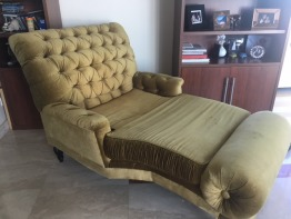The One Golden Lounge Chair