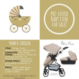 Pre-loved Baby Pram & Stroller For sale