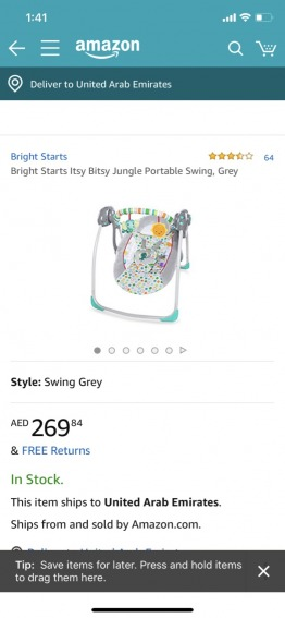 Baby Bouncer/Swing