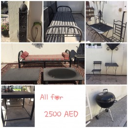 WROUGHT IRON & WOOD FURNITURES