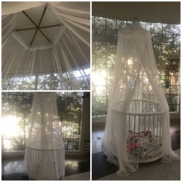 ROMANTIC & USEFUL NET FOR BABY UP TO 18 MONTHS