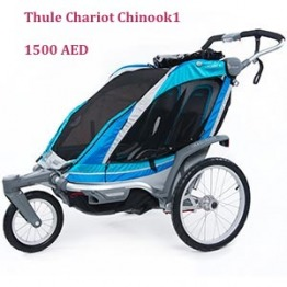 Thule Chariot Chinook1 Blue Multifunctional Child Carrier/Stroller/Jogger