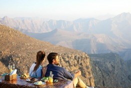 The UAE's Tallest Mountain, Jebel Jais, to Have an Observation Deck