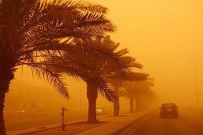 Sandstorm Blankets Parts of Saudi Arabia